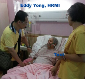 Eddy Yong with Sis Sow Leng
