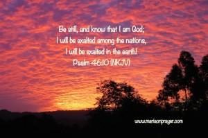 Ushering God's presence